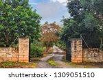 Entry To Private Farm Area ...