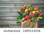 healthy food selection.... | Shutterstock . vector #1309113256
