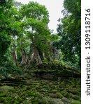 vertical shot of temple... | Shutterstock . vector #1309118716