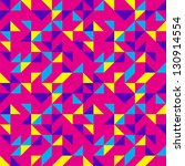bright pink pop pattern | Shutterstock .eps vector #130914554