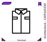 shirt vector icon. best modern ...