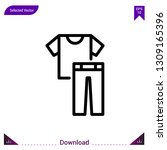 clothes vector icon. best...