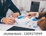 business colleague team working ...   Shutterstock . vector #1309173949