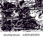 distressed background in black... | Shutterstock . vector #1309185493