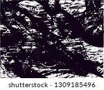 distressed background in black... | Shutterstock . vector #1309185496