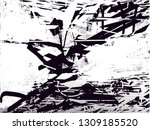distressed background in black... | Shutterstock . vector #1309185520