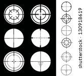 crosshair | Shutterstock .eps vector #130918619