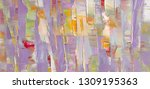 highly textured colorful...   Shutterstock . vector #1309195363