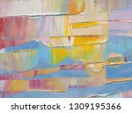 highly textured colorful...   Shutterstock . vector #1309195366