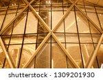 night building structures... | Shutterstock . vector #1309201930