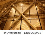 night building structures... | Shutterstock . vector #1309201933