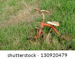 Abandoned Old Child's Tricycle...