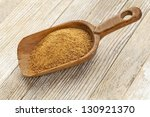 A Wooden Rustic Scoop Of...