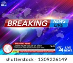 background screen saver on...   Shutterstock .eps vector #1309226149