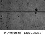 old grey concrete wall. ancient ... | Shutterstock . vector #1309265383