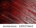illustration silver and red... | Shutterstock . vector #1309270663