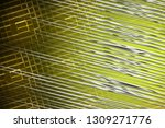illustration silver and yellow... | Shutterstock . vector #1309271776