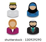 avatars four muslim men and...