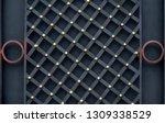 wrought iron gates  ornamental... | Shutterstock . vector #1309338529