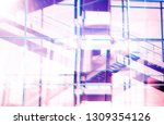 abstract architecture... | Shutterstock . vector #1309354126