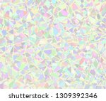 vector background from polygons ... | Shutterstock .eps vector #1309392346