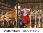 lisbon  portugal   12 26 18 ... | Shutterstock . vector #1309441519