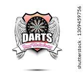 Happy Valentine Day. Darts Logo ...