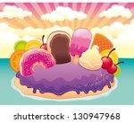 candy island | Shutterstock .eps vector #130947968