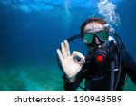 Underwater Shoot Of A Man...