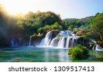 Panoramic Landscape Of Krka...