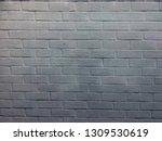 modern brick wall white high... | Shutterstock . vector #1309530619