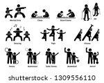 enrichment programs for... | Shutterstock . vector #1309556110