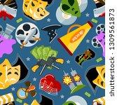 cinema signs vector... | Shutterstock .eps vector #1309561873