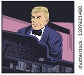 stock illustration. piano...   Shutterstock .eps vector #1309621480