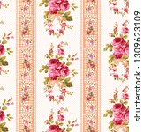 Seamless Fabric Pattern With A...