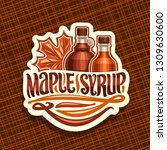 vector logo for maple syrup ... | Shutterstock .eps vector #1309630600