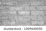 old wall grey grunge background ... | Shutterstock . vector #1309640050