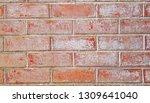 red texture stonewall... | Shutterstock . vector #1309641040