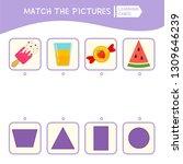 matching children educational... | Shutterstock .eps vector #1309646239