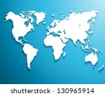 abstract background with a map... | Shutterstock .eps vector #130965914