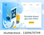 medical tests  diagnostics with ...   Shutterstock .eps vector #1309670749