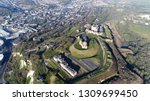 aerial picture from helicopter... | Shutterstock . vector #1309699450