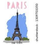 Image Of The Eiffel Tower In...