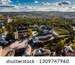 Kielce Poland - National Museum Panorama landscape aerial