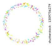 sprinkles grainy. cupcake... | Shutterstock .eps vector #1309756279