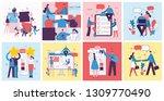 vector illustrations of the... | Shutterstock .eps vector #1309770490