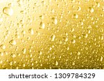 drops of water on a color... | Shutterstock . vector #1309784329