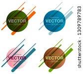 patterns set.minimalistic... | Shutterstock .eps vector #1309789783