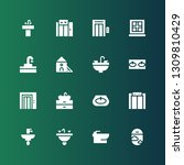 indoor icon set. collection of...   Shutterstock .eps vector #1309810429