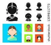 vector illustration of imitator ... | Shutterstock .eps vector #1309811773